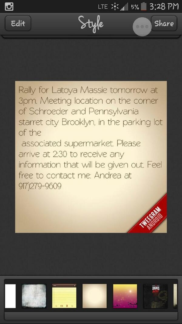 Missing LaToya Massie has helped AIDS orphans in South Africa & child slaves in Ghana. Let's help her at rally today! http://t.co/RZgIWWHmZU
