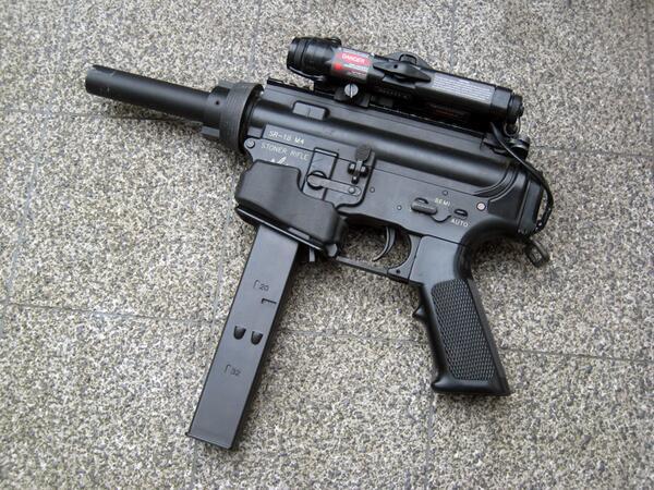 #愛銃を貼る http://t.co/nNBA8dNKWU