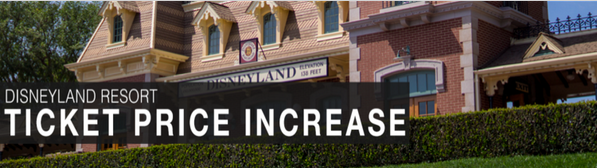 BREAKING NEWS: Disneyland Raises Admission Prices Overnight, SoCal Annual Pass Eliminated http://t.co/Gv7m22g9yO • http://t.co/AqNi1aU1dC