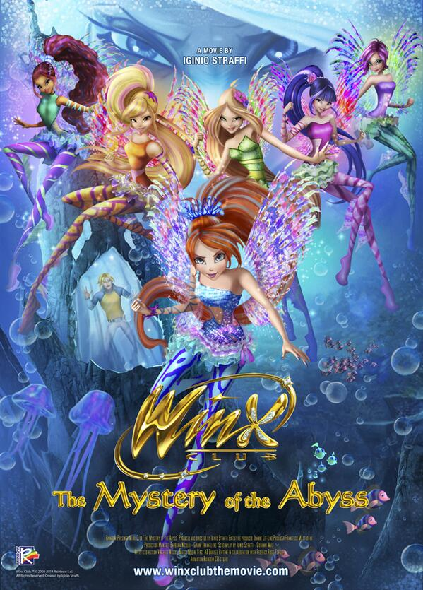 Winx Club The Mystery of the Abyss Poster: http://t.co/cINsxiABcn http://t.co/FBB1pnguxI