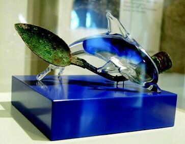 Was hat der Glasdelfin mit dem Löffel zu schaffen? Matthias Schamp klärt auf ... #IMT14 #Heilbronn #myCollection14 http://t.co/pPfDzVaRhX