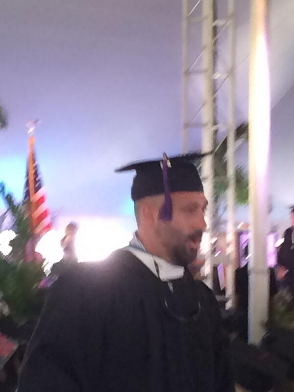 Way to go judgy #eckerd14 http://t.co/2EEnqqoBWG