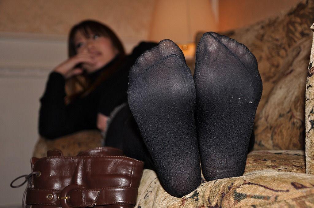 Sweaty Smelly Pantyhose Stockings Uflash 1