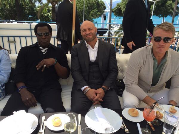 Cast of Expendables 3 assemble at Cannes Film Festival