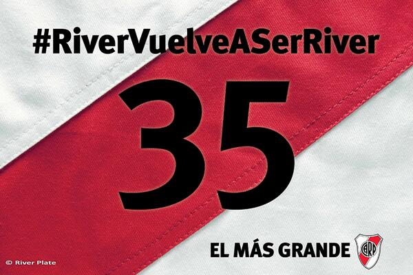 ¡RIVER, CAMPEÓN! http://t.co/tXPJ8TNDfx