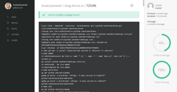 preview of the upcoming 0.3 alpha release of Drone, with a shiny new UI http://t.co/qNoOub0ql9 http://t.co/XtcXQ5R45E