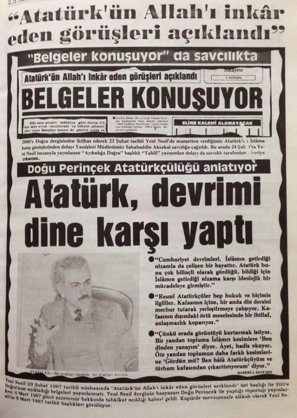 Gizlitarih Sur Twitter Gerçek Müslüman Atatürkü Sevmez