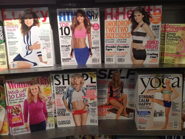 I think women's magazines hate women more than men do. http://t.co/LB3Sg7490c