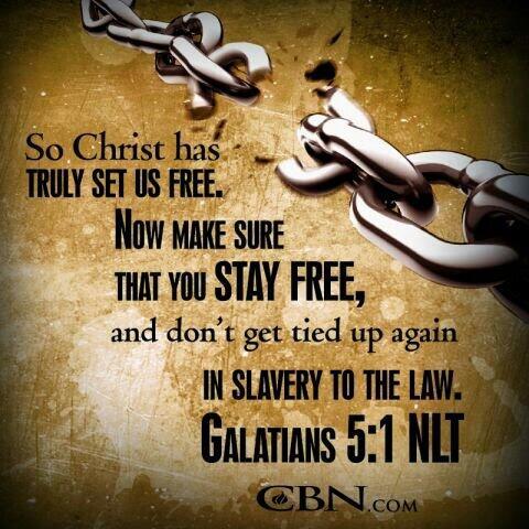 "Amos S. Wright on Twitter: ""Galatians 5:1 (NLT) via #CBN  http://t.co/rdqfMAACIN"""