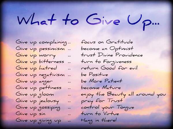 What to give up  #HealthTips #LifeTips http://t.co/GPybIXz8mw