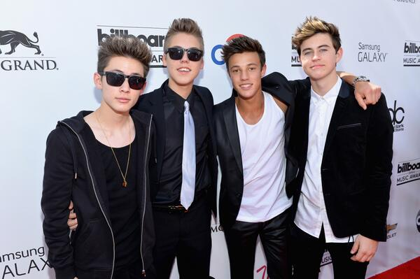 Carter Reynolds, Matthew Espinosa, Cameron Dallas and Nash Grier hit the #BBMAs red carpet: http://t.co/mlCwDLEhQW http://t.co/AvHxHkt3WB