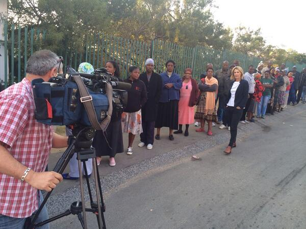 As a South African I still feel a deep sense of pride when filming voting lines and reporting on the elections #20yrs http://t.co/9TruvcIpyD