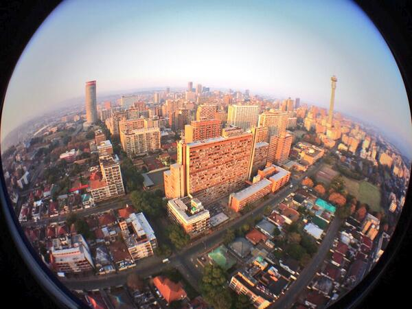 Morning Joburg! I love South Africa! #Elections2014 http://t.co/0RnUpwdyJG