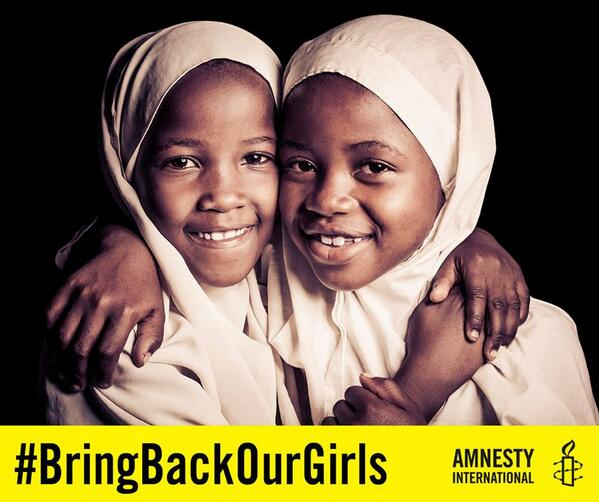 Support #BringBackOurGirls and show your solidarity with the kidnapped #Nigeria Schoolgirls. http://t.co/YzXY4JHVsD http://t.co/0ksB5pjlTn