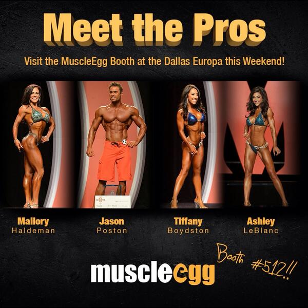 Dallas Europa!! Booth #512 with the best there is. @MuscleEgg & my @Team_FMG dangerously fun times ahead! @jmmanion http://t.co/5dq5ylTS4v
