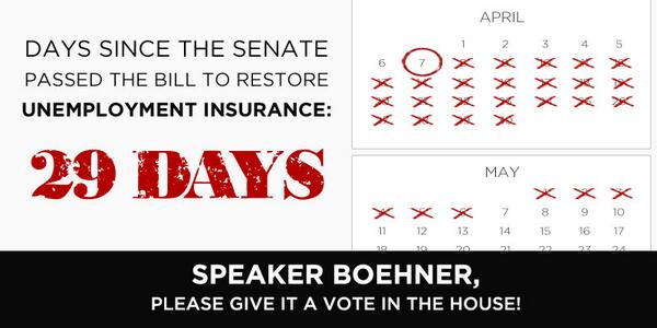 Every week that @SpeakerBoehner refuses to allow a vote to #RenewUI, 72,000 more Americans lose a vital lifeline. http://t.co/ERC9CsXTEB