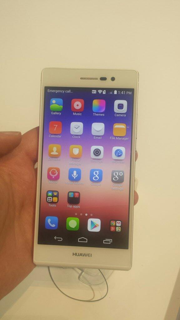 Amazing new #AscendP7 @HuaweiDevice http://t.co/GrxWFSbGQx