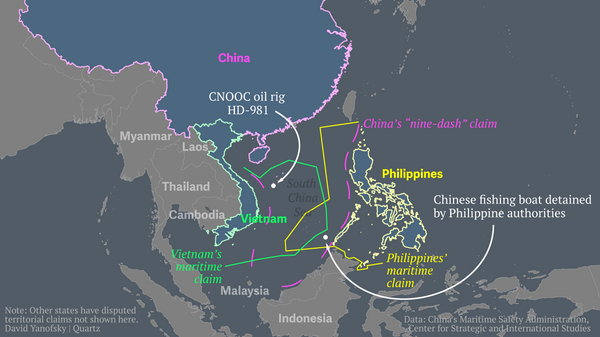In the last 24 hours the South China Sea got crazy. Here's a map for you http://t.co/X8lcXlw9nb http://t.co/Pz0vlDNWk8