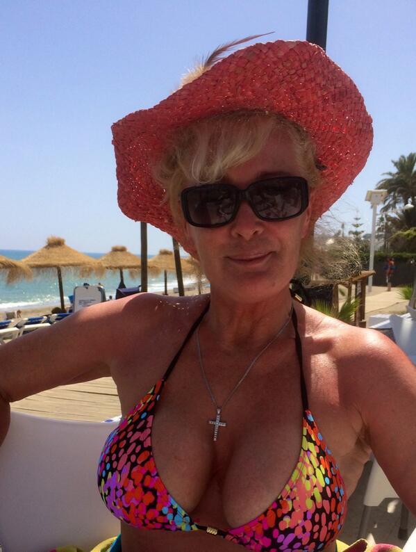 Beverley callard boob pic 419