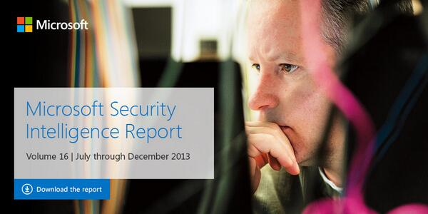 Now Available - Microsoft Security Intelligence Report Volume 16: http://t.co/tdE6R6z8k8 #SIRv16 http://t.co/wGjcOgBaE3