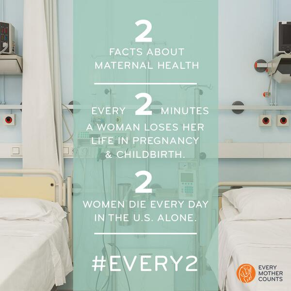 #EVERY2 min a mother is lost. TAKE 2 min, share 2 facts, help @everymomcounts raise awareness http://t.co/wYcc4yKvVz http://t.co/qdT100OM2b
