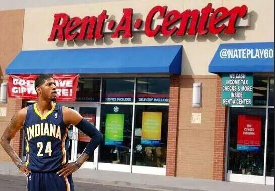 Oh wow! Just ran into Paul George on my road trip #RoyHibbert #Pacers #Heat http://t.co/v3YhnFFuGl