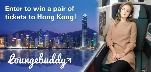 Enter the @LoungeBuddy contest for a chance to win an unforgettable experience to #HongKong! http://t.co/zuXdJPjXQ4 http://t.co/YfV7yoPT1I