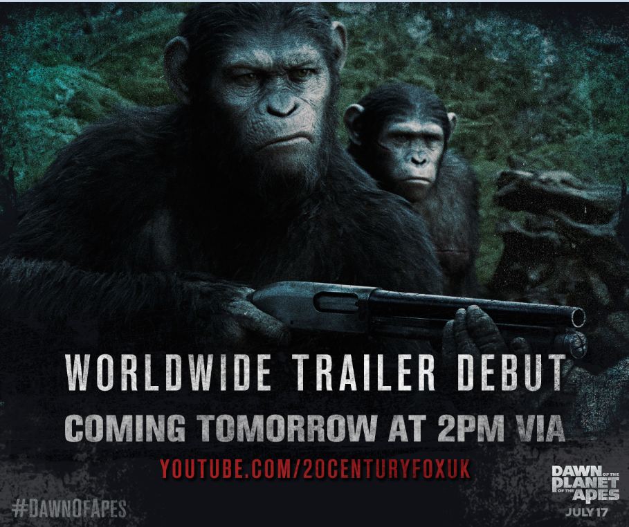 Worldwide Trailer Debut van Dawn of the Planet of the Apes