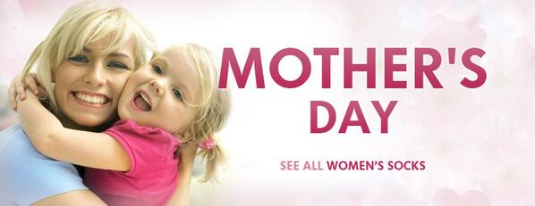 Gifts for Mother's Day at Socksmax. Use coupon code #Mother to get 15% discount. http://t.co/KEexuC8Sja
