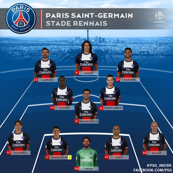 Match Thread : PSG Vs Rennes [9pm Local