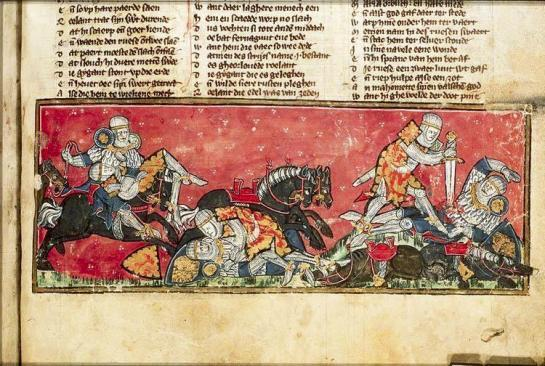 Mortally wounded by #kzoo2014, #kzoo14 was carried off to the Isle of Avalon,so that his wounds might be attended to. http://t.co/ZUStxKCeVc