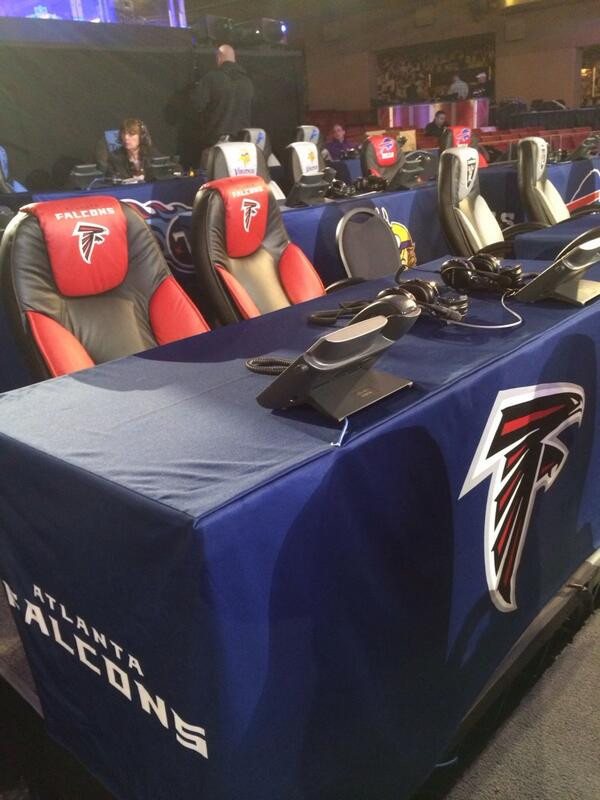 Where the pick will get called in. #FalconsDraft http://t.co/qMVa82BRwN