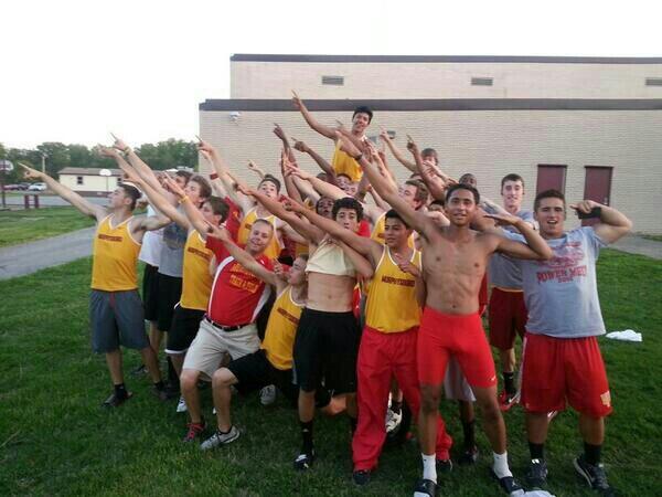 MHS Boys Track Team - 2013-14 Benton Chuck Oyler Team Champs! #3rdStraightYear<br>http://pic.twitter.com/T48mRxTCqy