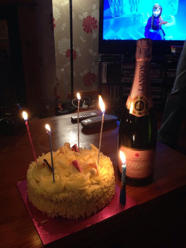 Ciara Mccafferty On Twitter Birthday Cake Pink Champagne And