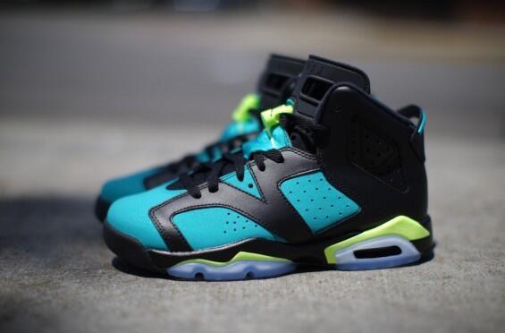 """ kicksonfire  Air Jordan 6 GS ""Turbo Green"" (Closer Look) -  http   kickson.fr 1fWlRnv  More Photos  pic.twitter.com GP7ZQjwvwY"" ewww bd4a6c881"