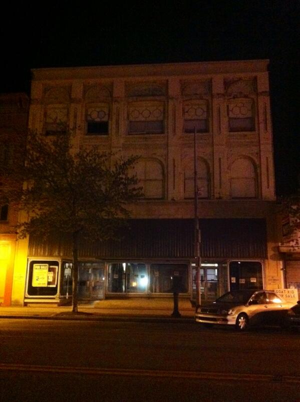 THIS is 227 E. High St., the building Petra wants to redevelop. @MercuryX http://t.co/mvGFgpchHt