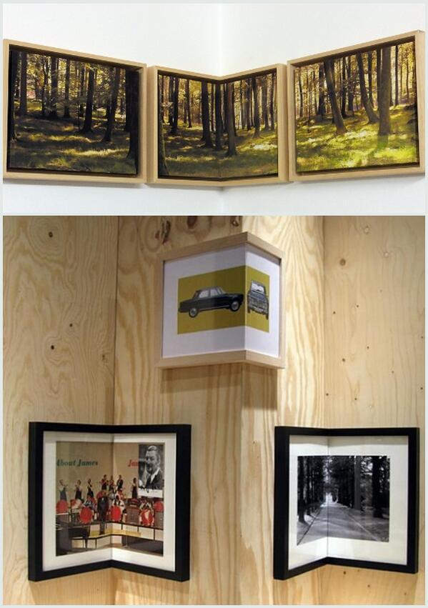 Corner Picture Frame - Home Design