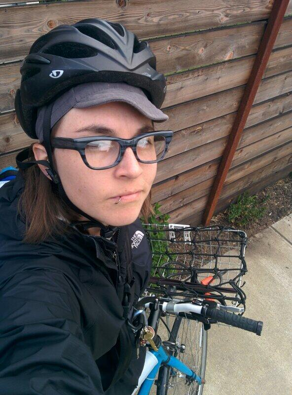 Obligatory #btwd #selfie. #bike2berk http://t.co/Q46gtnq5Md