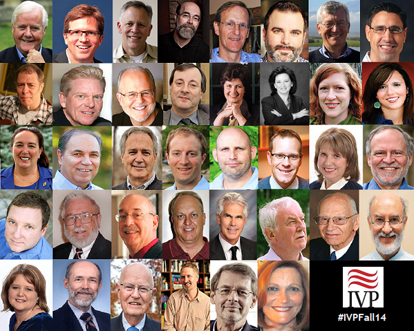 The result is pretty striking and disappointing. In order of  #IVPFall14 catalogue appearance: http://t.co/ZVLt3Tne21