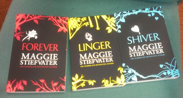 It's #competition time. We have 5 sets of @mstiefvater books to giveaway. Simply RT for a chance to win. http://t.co/kre7ovPBQd