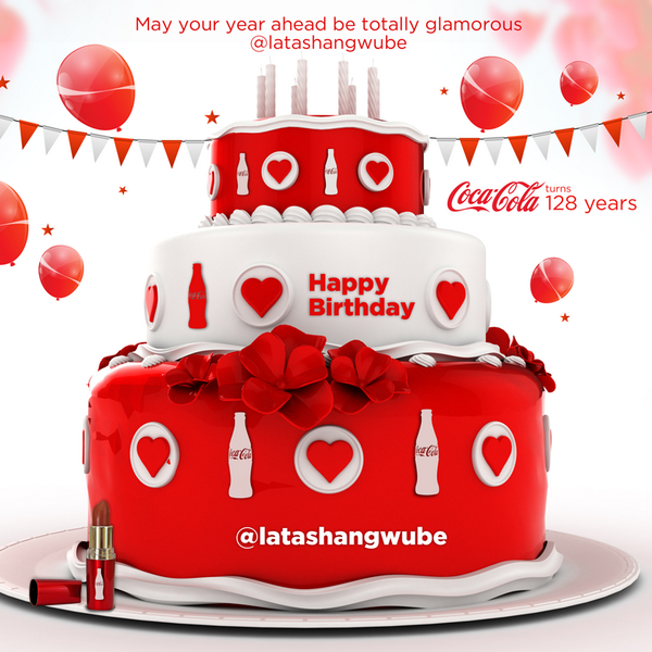 Coca Cola On Twitter Happy Birthday To The Lovely Latashangwube