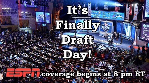 Happy Draft Day NFL fans!!! http   dbd6edb7c11
