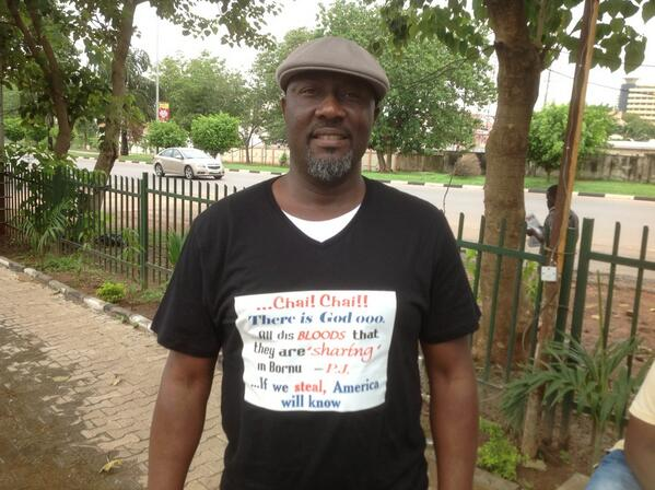Checkout Ex-Lawmaker Rocking 'There is God ooo' T-Shirt (Photo)