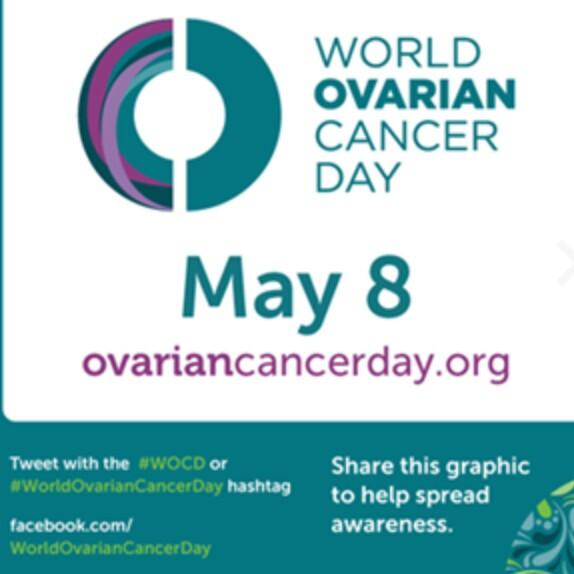 Today, May 8th is #WorldOvarianCancerDay or #WOCD  please help give this silent killer a megaphone & share ;) http://t.co/lOHgLaQTzT