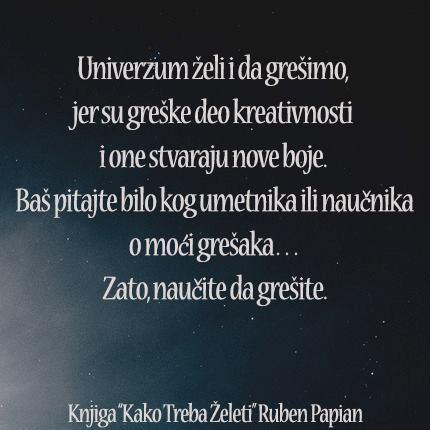 Ruben Papian On Twitter Univerzum Citat Citati Zelja
