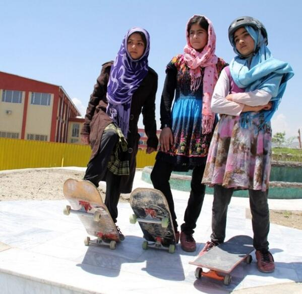 Awesome. RT @tonyhawk: 40% of skaters in Afghanistan are female thanks to the support of @Skateistan... so badass. http://t.co/af63oFWQfe
