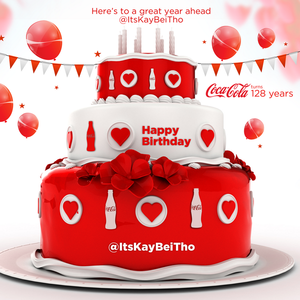 Pleasant Coca Cola On Twitter Dude Itskaybeitho Is There A Party Today Funny Birthday Cards Online Necthendildamsfinfo