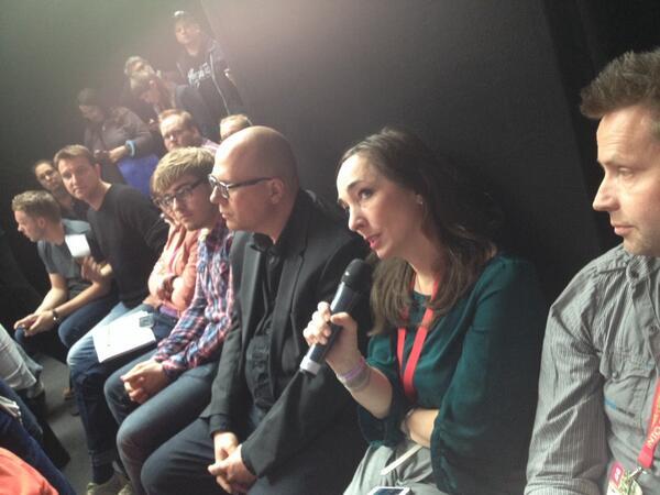 """Mona Rübsamen von @FluxFM findet @rspradio """"toll""""! Wir auch! #innovationspace #rp14 http://t.co/zmeBLiPNgD"""