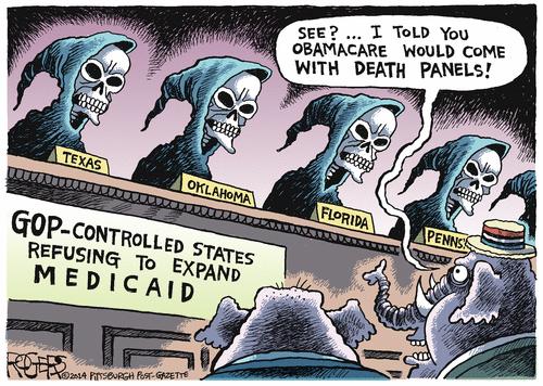 @GOP Creates their own Death Panels #Healthcare #Obamacare #ACA  #Uniteblue #p2 #LibCrib http://t.co/NCfgYL8Hem