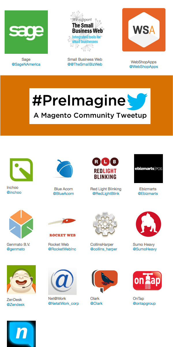 inchoo: Proud to be on #preimagine sponsor list http://t.co/Ybt9vYOwX4 See you guys later today!